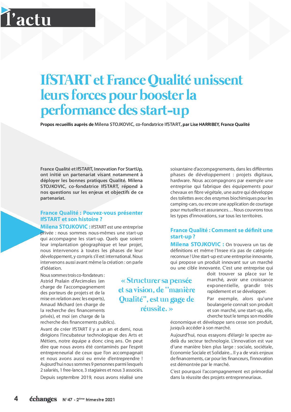 performance startup