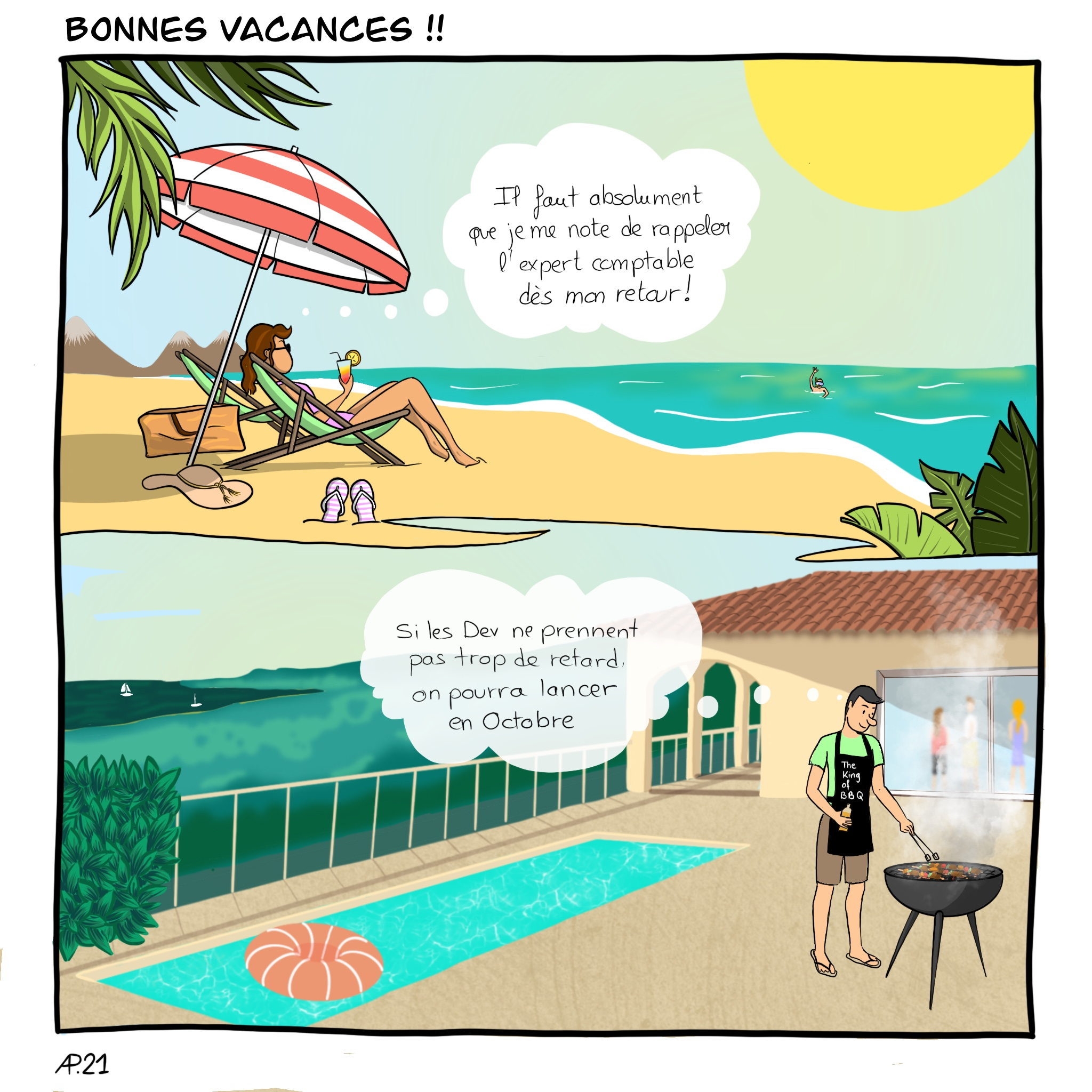 entrepreneuriat vacances